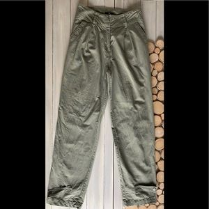 H&M pleated cargo pants